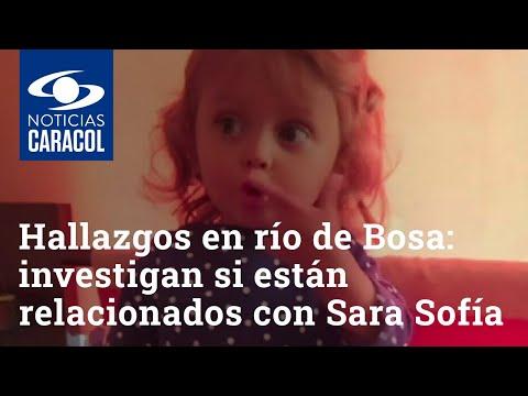 Hubo hallazgos en río de Bosa: investigan si están relacionados con Sara Sofía