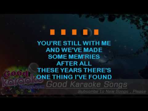 Dust On The Bottle -  David Lee Murphy (Lyrics Karaoke) [ Goodkaraokesongs.com ]