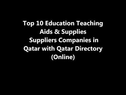 Top 10 Education Teaching Aids & Supplies Supplies Companies in Doha, Qatar