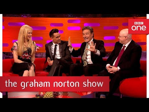 Bryan Cranston got caught having car sex on a train - The Graham Norton Show: 2017 - BBC One
