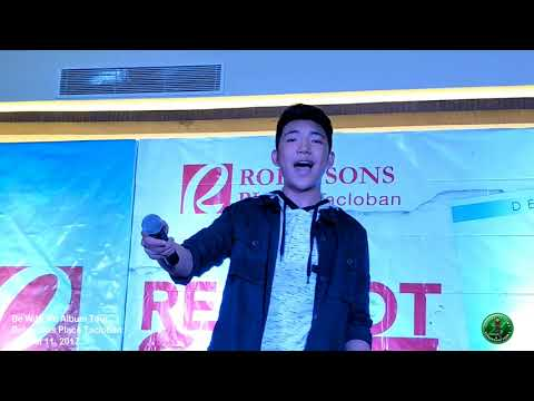 Darren Espanto Be With Me Album Tour at Robinsons Place Tacloban Part 1 (08-11-2017)