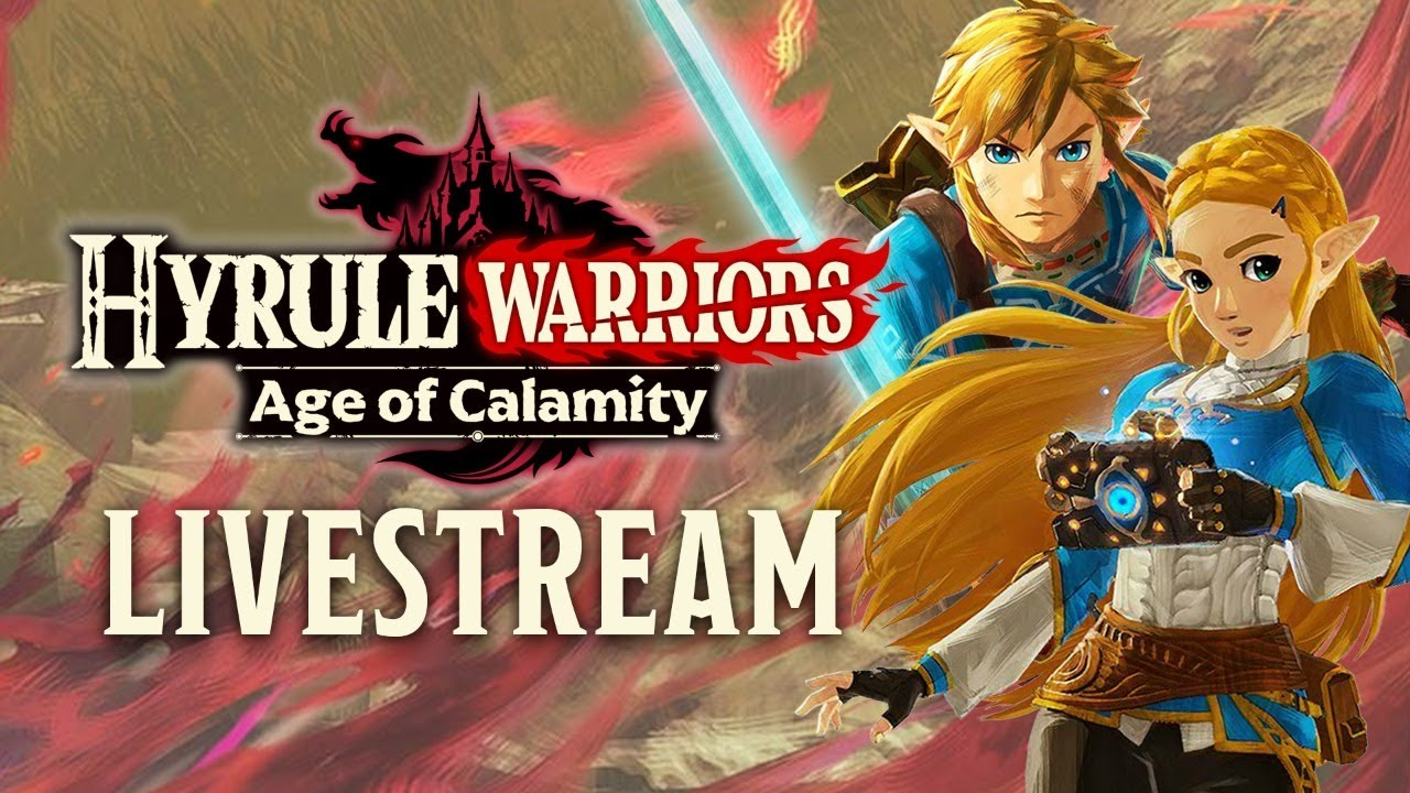Hyrule Warriors Age Of Calamity Gameplay Tgs 2020 Japanese Youtube