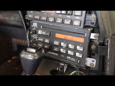 C4 Corvette double din radio install 1996 Chevrolet Los Angeles