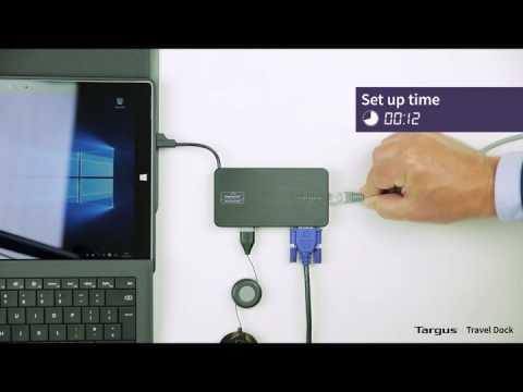Targus USB 3.0 Dual Video Docking Station