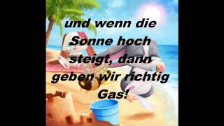 Schnuffel - Party und Sonnenschein lyrics + English Translation + Download