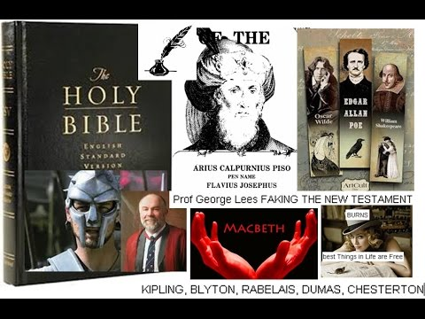 Piso BIBLE Christ fraud 6 ELITE AUTHORS & the man behind the MASK