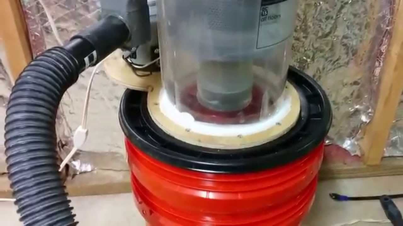 Shop Vac Dust Collector Made From Dyson Youtube
