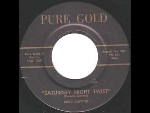 Doug Clayton - Saturday Night Twist  ~  Rockabilly