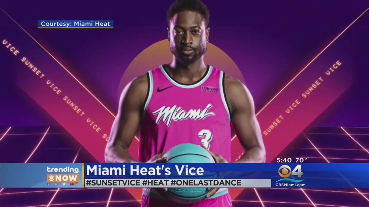 reputable site db806 9b756 Trending: Miami Heat Unveil New 'Sunset Vice' Uniforms