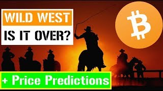 The Crypto Wild West 🤠 is it over? + Bitcoin Price