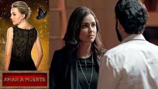 Eva inicia la guerra entre dos carteles   Amar a muerte - Televisa
