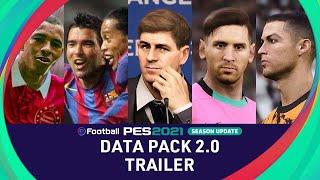 DATA PACK 2.0 TRAILER - eFootball PES 2021 SEASON UPDATE