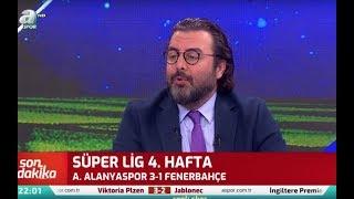 Fenerbahçe 1 - 3 Alanyaspor  Emre Bol Maç Sonu Yorumları / A spor