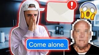 MY STALKER IS DEMANDING TO MEET ME!! *Scary Email* (He threatened me) thumbnail