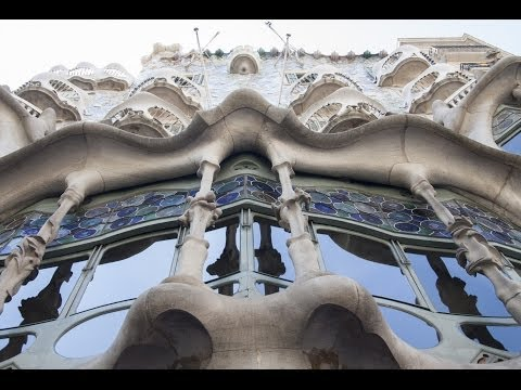 Barcelona city walk 2013 HD. Spain.