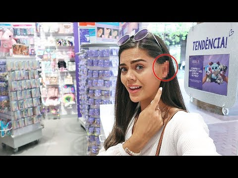GETTING MY EARS PIERCED AT CLAIRE'S..