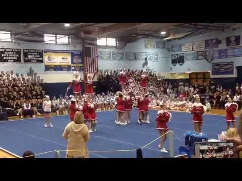Nesaquake Middle School Cheer Competition 1-10-2015