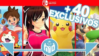 Lanzamientos EXCLUSIVOS Nintendo Switch 2018 - 2019 | N Deluxe