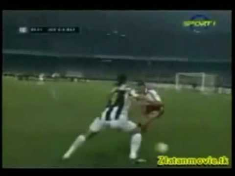 The best dribblings and tricks of Zlatan Ibrahimovic