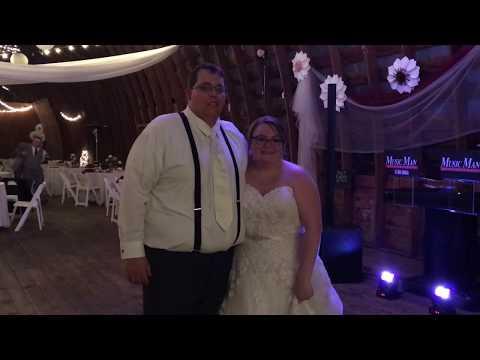 Music Man Entertainment Wedding Testimonials | Caitlyn & Matthew | 10/07/18 | MKJ Farms, Deansboro