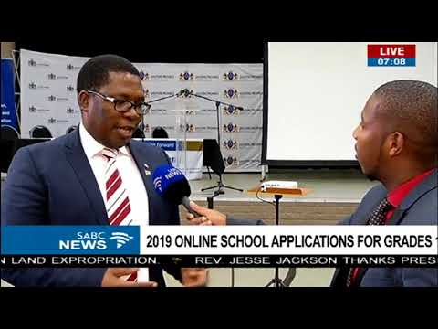 2019 online school applications  for grades 1 and 8