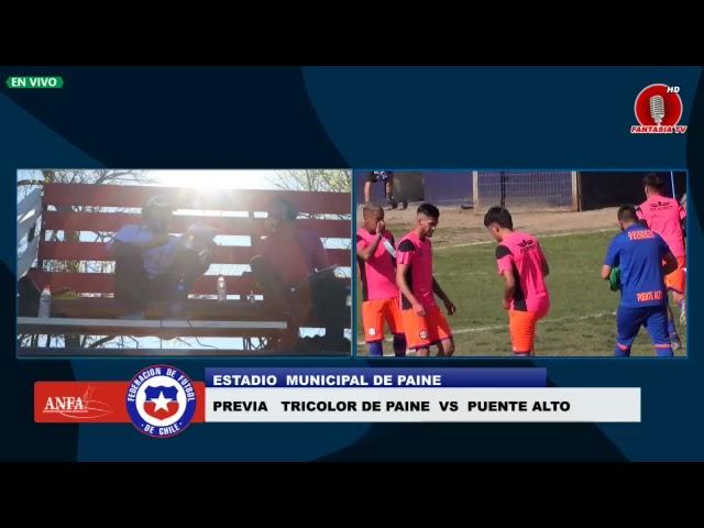 TRICOLOR DE PAINE VS M  PUENTE ALTO