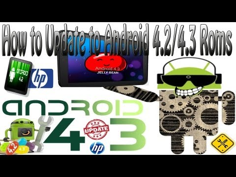 How To  To Clean Install Android Roms On The HP TouchPad