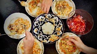 4 студента, 30 мин и 200 руб, плов дешево и быстро по рецепту Сталика Ханкишиева