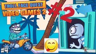 Прохождение Troll Face Quest Video Games 2 🔥⚡️# 2 часть