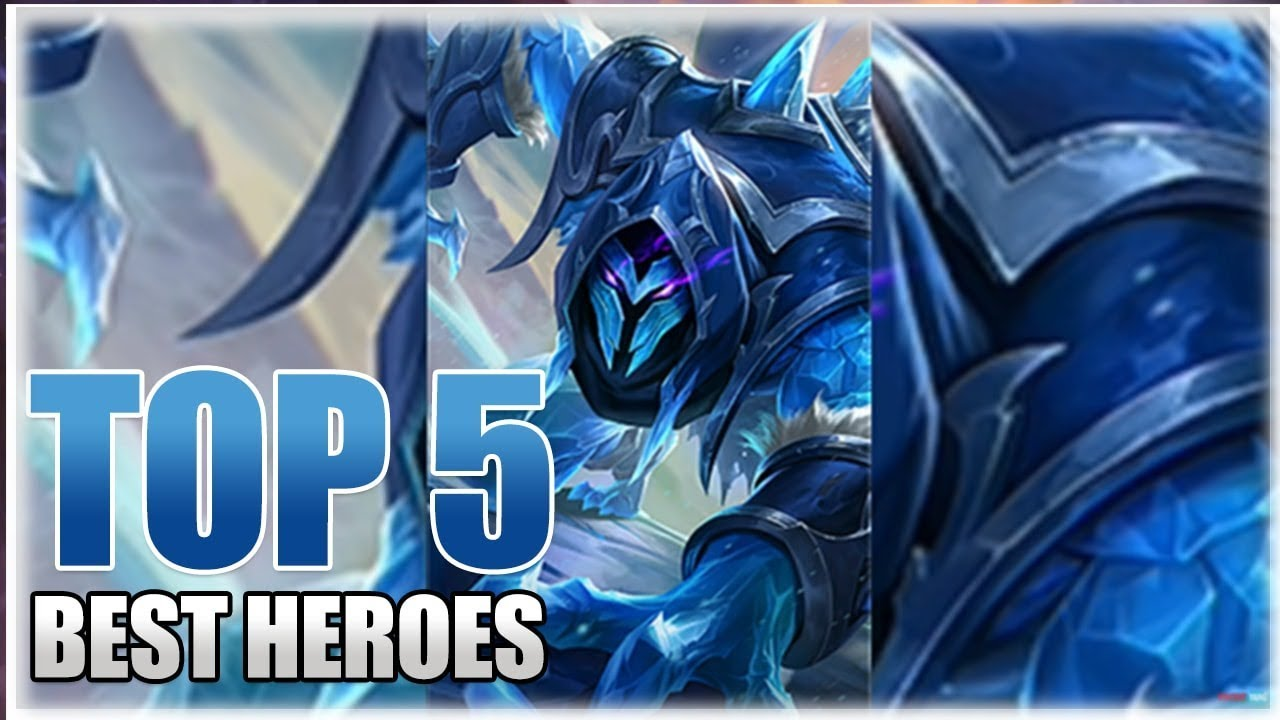 mobile legends top 5 best heroes before hanzo and thamuz release