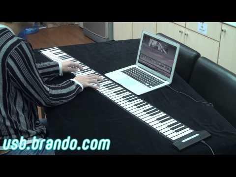 USB Roll-Up Piano (88 Keys)