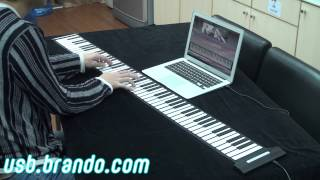 USB Roll-Up Piano (88 Keys)
