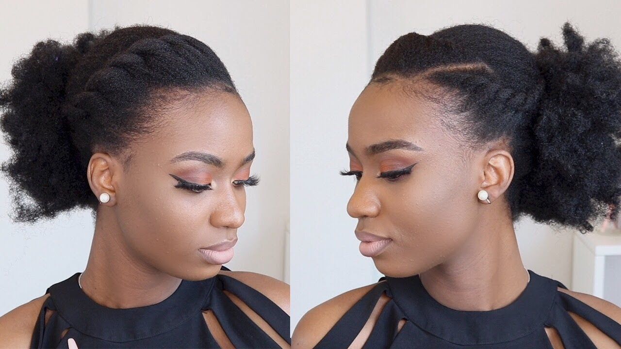 SISTER PUFF IS BACK! - EASY AND SIMPLE 4C NATURAL HAIR ...