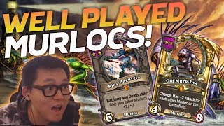 Well Played Murlocs! - Hearthstone Battlegrounds