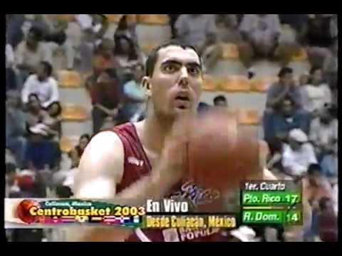 PR vs Dominicana ...2003 Centrobasket Final
