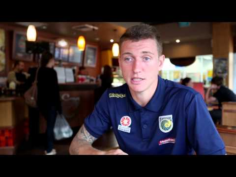 Central Coast Mariners Interview of the Week - Mitchell Duke