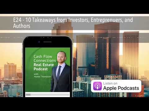 E24 - 10 Takeaways from Investors, Entreprenuers, and Authors