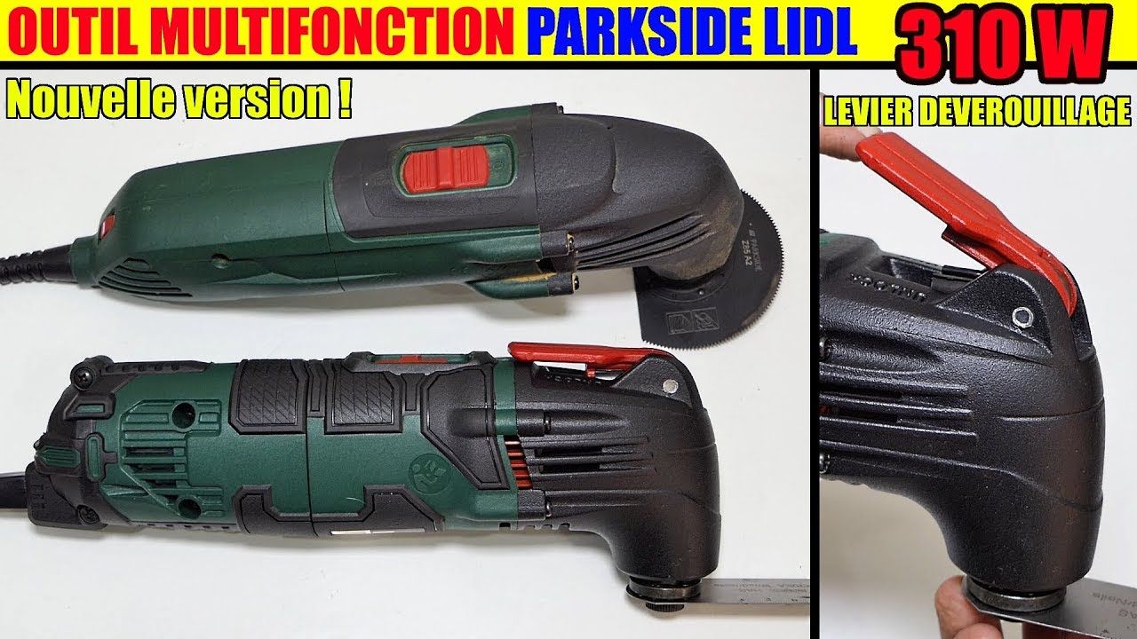 Outil Multifonction Lidl Parkside Pmfw 310 D2 Multi Purpose Tool Multifunktionswerkzeug