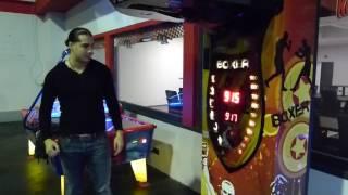 Boxing Machine ,Boxautomat Challenge new Record!