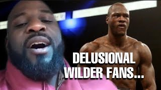THE RELAY: what's wrong with Wilders fans? The Deontay Wilder Mental health crisis exposed
