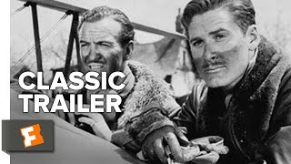 The Dawn Patrol (1938) Official Trailer - Errol Flynn, Basil Rathbone Movie HD