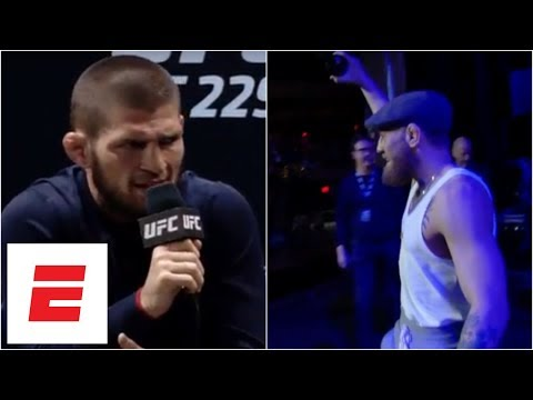 Conor McGregor Late To UFC 229 Press Conference, Khabib Nurmagomedov Leaves Early