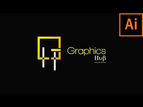 How To Make Vintage Monogram Logo - Adobe Illustrator cc Tutorial 2019 thumbnail