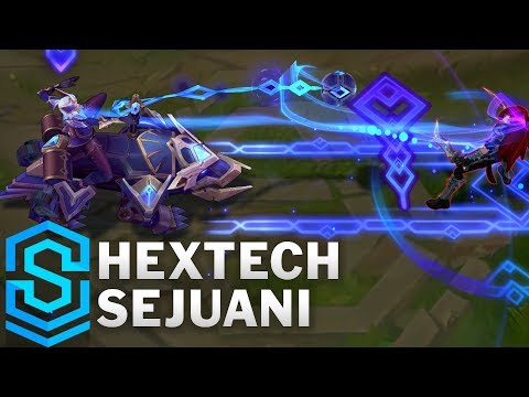 Hextech Sejuani Skin Spotlight - Pre-Release - League of Legends