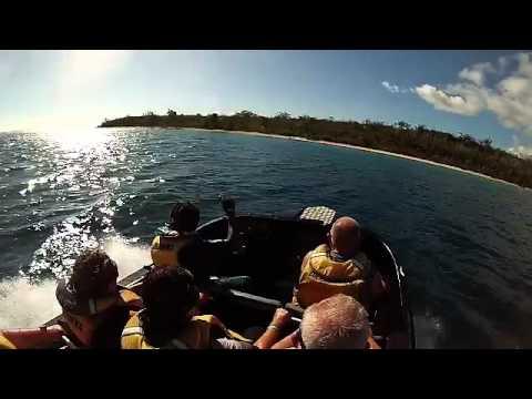 Gopro 3 Jet Boating in Vanuatu