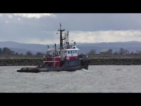 PACIFIC tugboats SEASPAN PROTECTOR 3 fraser river