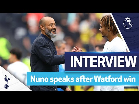 'We still have a long way to go' |  After the game: Spurs 1-0 Watford