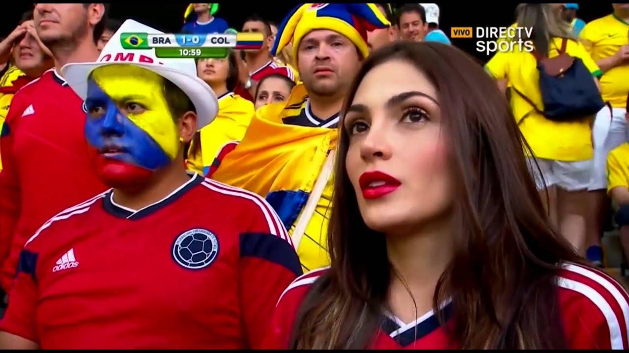 Resultado de imagem para Brasil vs Colombia 2014