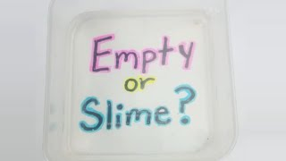 SLIME OR WATER? How many can you guess?- SLIME CHALLENGE!
