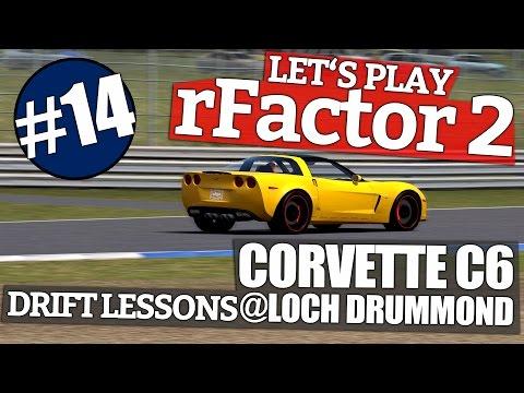 rFactor 2 #14 // Corvette C6 @Loch Drummend - DRIFT LESSONS